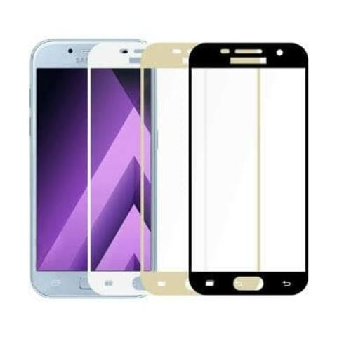 TEMPERED GLASS COLOR/WARNA SAMSUNG J5 PRO TEMPERED GLASS FULL COVER 3D