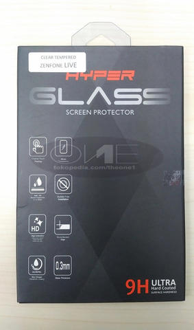 TEMPERED GLASS SCREEN PROTECTOR | ASUS ZENFONE LIVE | HYPER GLASS