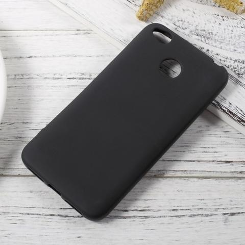 Xiaomi Redmi 4X Case Matte Softcase Slim Matte Case UltraSlim Black