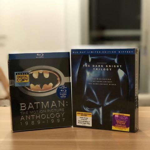 Bluray Batman: The Motion Picture Anthology & The Dark Knight Trilogy