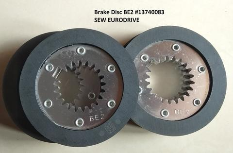SEW EURODRIVE Kanvas Brake - Brake Disc BE2 Part No 13740083