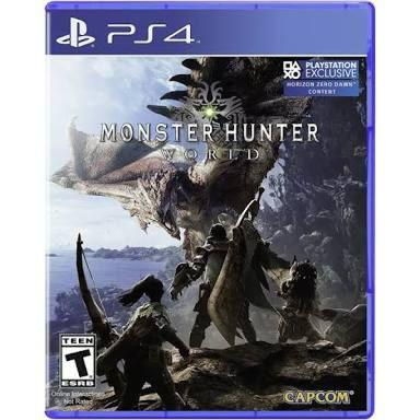 monster hunter world reg 3 ps4