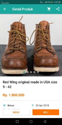 redwing, red wing