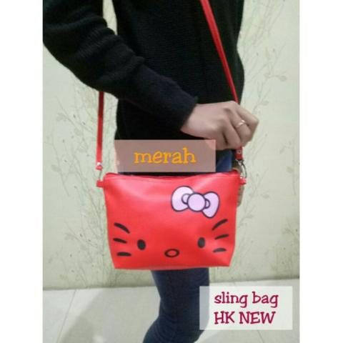 Sling Bag Hello Kitty