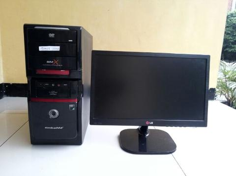 PC Game AMD Athlon II X2 250 2GB 250GB VGA 1GB LED 19inch