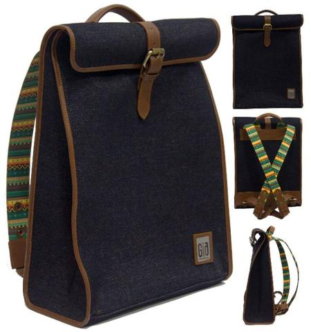 Tas Ransel Wanita / Backpack / Kanvas / Canvas / Denim /Jeans