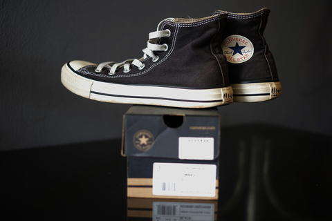 Converse CT AS Canvas Hi Black Original 1000%