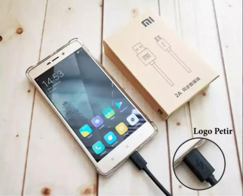 Kabel Data Charger Xiaomi Original Micro USB Support Fast Charging