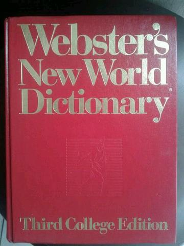 Buku WEBSTER'S NEW WORLD DICTIONARY
