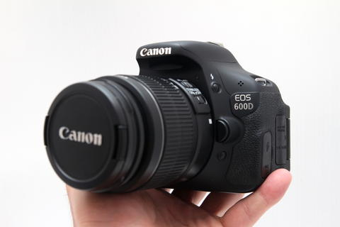 Canon 600D 18-55mm IS II Murah FULLSET BOX