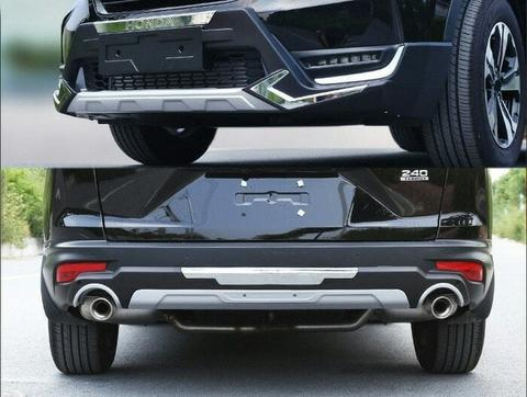 Fron And Rear Bumper Guard CRV Turbo 2017