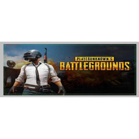 Gaming Mousepad Desk Mat Desain Game Online 400x900x2mm -PUBG 1