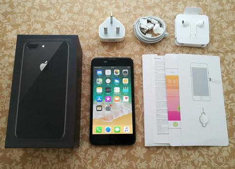 Iphone 8 Plus 256GB Space Gray Baru 1 Bulan Pake Super Mulus 100% Fullset