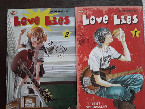Komik Love Lies