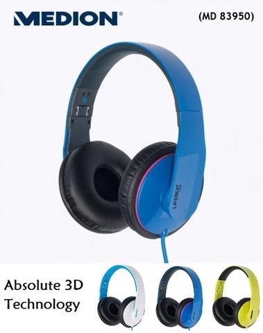 Medion Life MD 83950 Absolute 3D technology Headphone