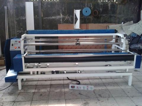 Mesin inspek bahan inspeksi kain cek bahan fabric inspection machine