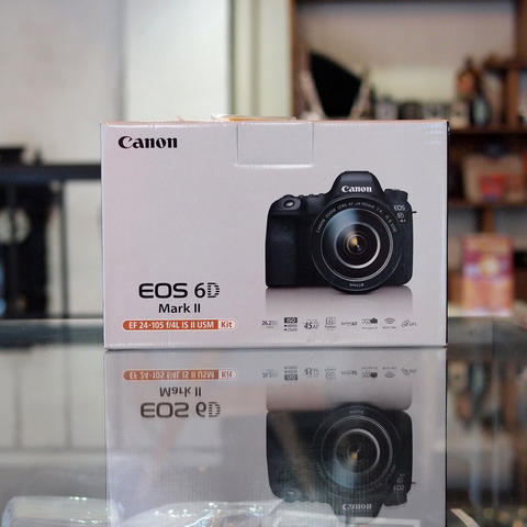 NEW - CANON EOS 6D MARK II BODY ONLY