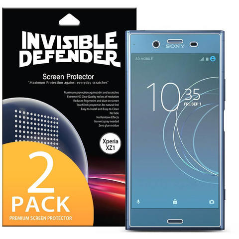 Rearth Ringke Invisible Defender Screen Protector Sony Xperia XZ1