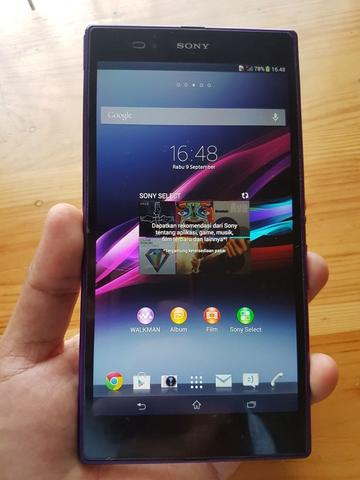 Sony Xperia Z Ultra - 4G Purple