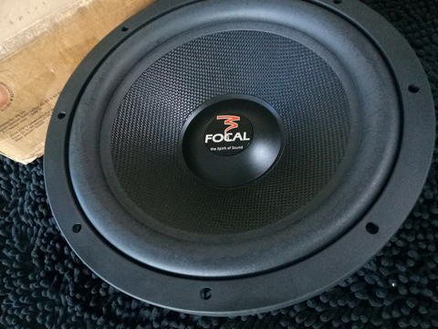 SUBWOOFER FOCAL ACCESS NEW OLD STOCK MURAH