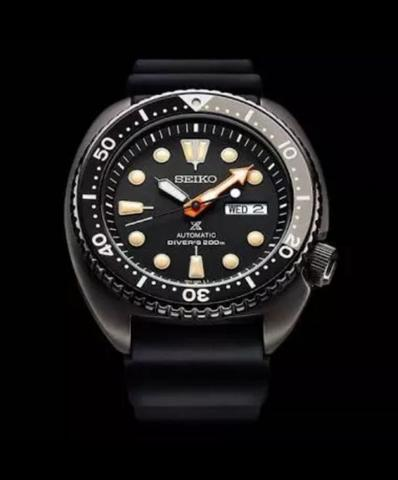 Seiko Prospex Black Turtle SRPC49K1 Limited Edition