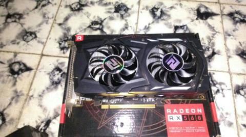 powercolor rx560 2gb dual fan