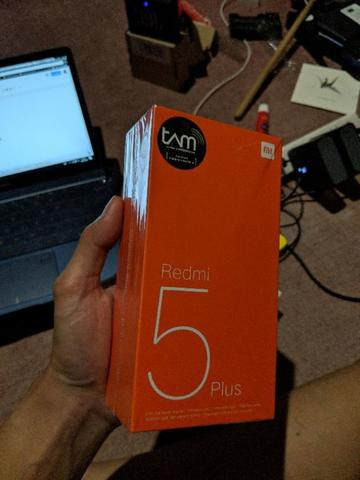 Xiaomi Redmi 5 Plus Blue 3GB 32GB Garansi TAM