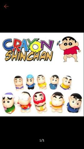 Shinchan figure set 3