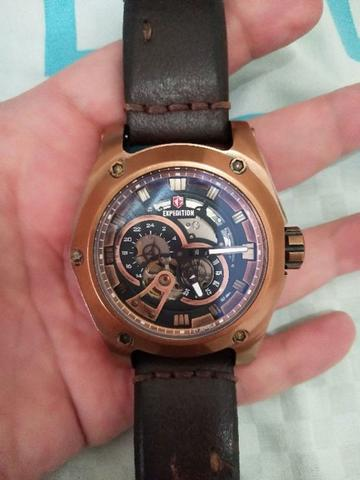Expedition 6679 Automatic Limited Edition Brown Rosegold