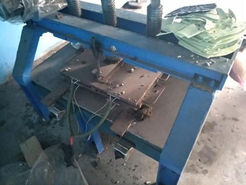 mesin press karet manual 3 siwar