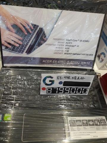 Kredit Laptop Acer E5-476-58AH Bunga 0%*