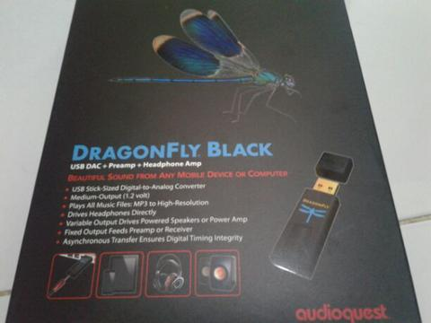 USB DAC AUDIOQUEST BLACK
