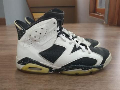 Original Air Jordan 6 Retro Oreo us8 42