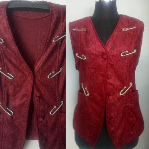 Rompi Outer Merah Maroon