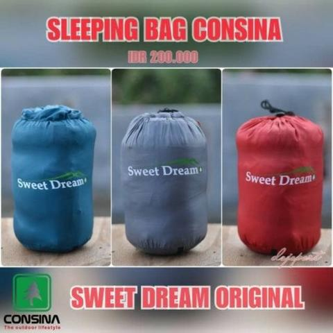 SLEEPING BAG SB MERK : CONSINA ORIGINAL TYPE : SB SWEET DREAM