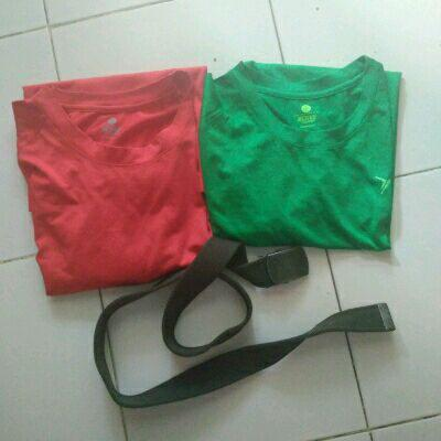 paket 2 kaos old navy actives plus 1 gesper s oliver original