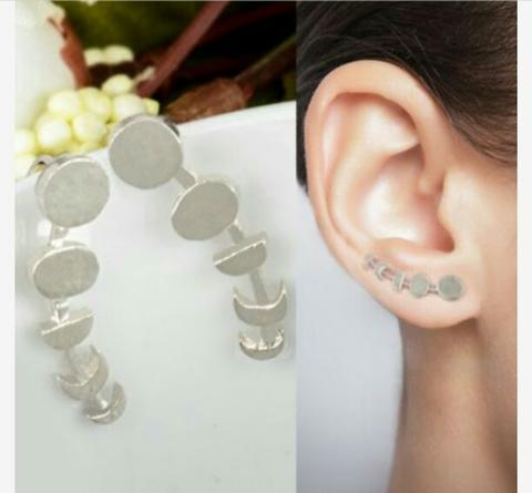 Anting Fashion Moon Early Fifteen Ear Clip