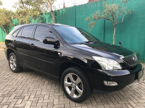 Toyota Harrier 07 Lprem Black ANTIK Km 47 Rb Record BERES Recomended Car For User