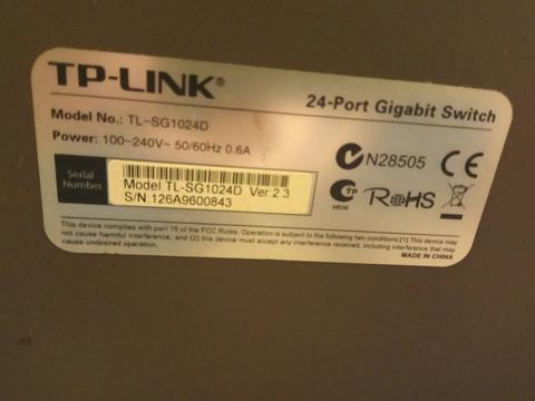 TP-LINK 24 Port Gigabit Switch (Bandung)