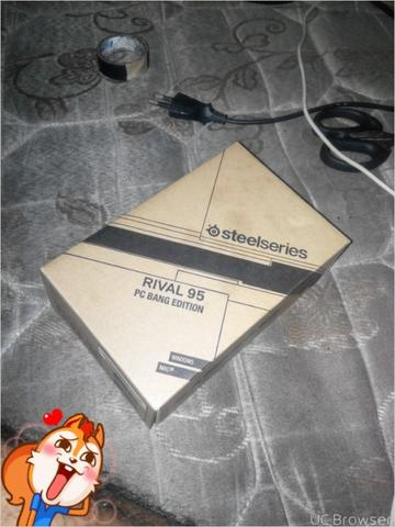 Steelseries Rival 95 PC Bang Mulus like new