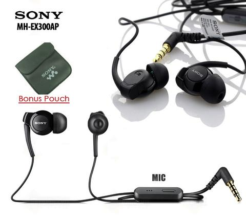 Original Sony Xperia Monitor Headset MH-EX300AP Copotan Earphone