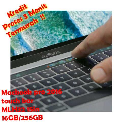 macbook pro touch bar MLH32 (15in/16/256) cash dan kredit termurah