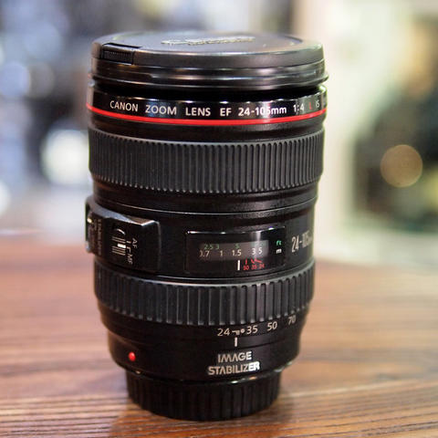 Canon EF 24-105mm f/4L IS USM Kode UZ - GOOD CONDITION | 5449