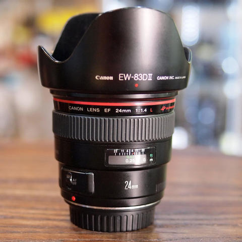 Canon EF 24mm f/1.4L USM KODE UU - MINT CONDITION | 8378
