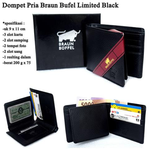 Dompet Pria Braun Bufel Limited Leather
