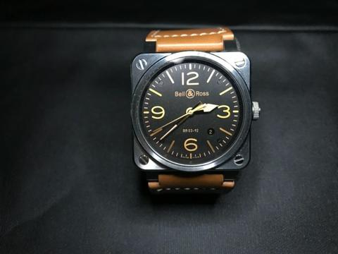 [For Sale] Bell & Ross BR03 Golden Heritage Automatic – BR03-92 Golden Heritage