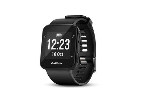 GARMIN Forerunner 35 Black With Black Band - GPS Heart Rate Running Watch