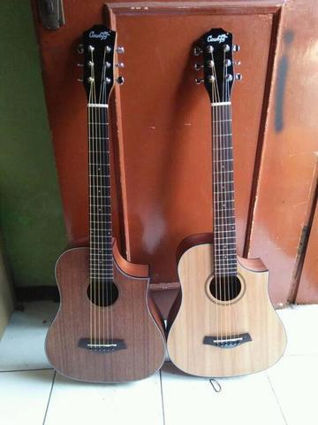 Gitar traveling new edition akustik elektrik