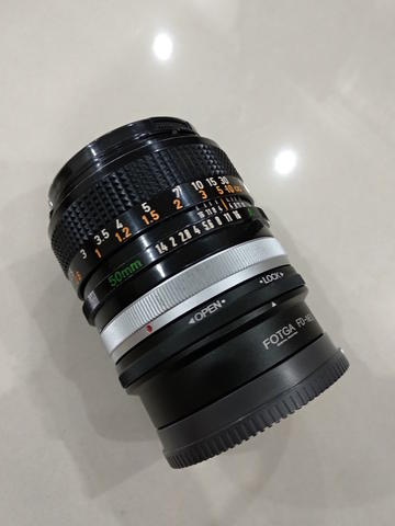 Jual Canon FD Lens Lensa SSC 50mm f1.4 Analog Legacy VERY GOOD CONDITION!!