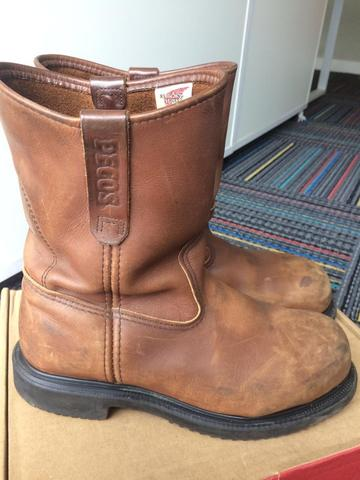 Jual Red Wing Pecos 8241 Safety Shoes Size 41/42